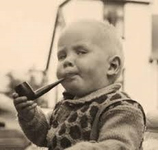 babies smoking