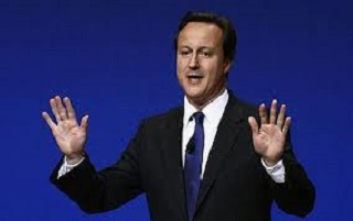 David Cameron nice and warm