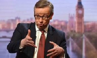 Gove rapping