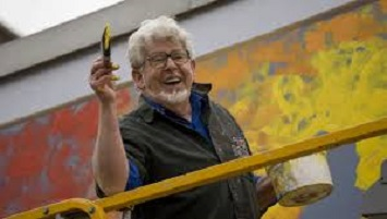 rolf harris painting defence