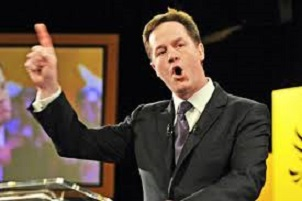 clegg on giant hovering bollock