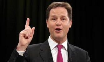 Nick clegg something or other