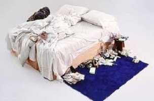 tracey emin's stupid bed