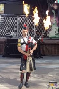 fire bagpipes