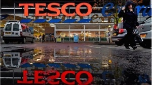 tesco flees the country