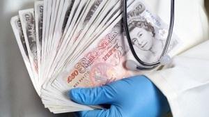 NHS cash