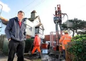 fracking in garden