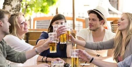 farting in beer gardens