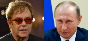 elton and putin not a date