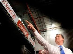 david Cameron coca-cola