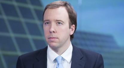 U.K. Government's Business And Energy Minister Matt Hancock Interview