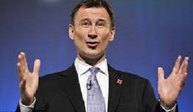 Jeremy Hunt appendectomies