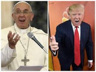 trump pope muslim