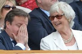 david cameron's mother