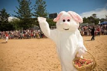 easter bunny bognor