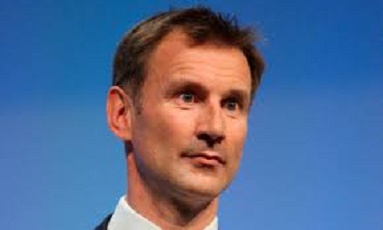 Jeremy Hunt on strike
