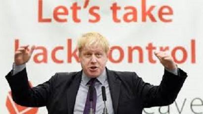 Boris Johnson leave eu