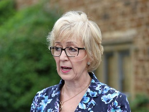 Andrea godbothering leadsom