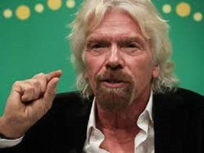 Branson's windfucked island